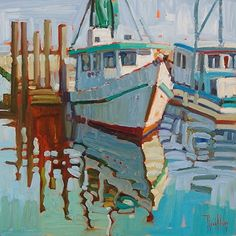 Windless Day by Rene Wiley - 16 x16 - Oil on Canvas by Rene' Wiley Gallery ~ x