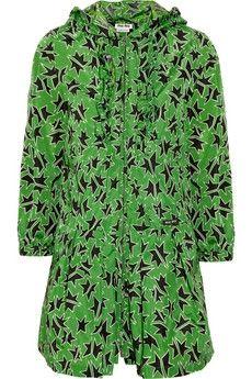 Miu Miu|Star-print raincoat|NET-A-PORTER.COM - StyleSays
