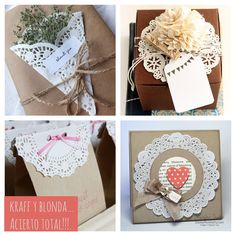 The best ideas for decorating with paper blondas Crafts To Sell, Diy And Crafts, Paper Crafts, Quilling Flowers Tutorial, Handmade Gifts For Boyfriend, Gift Wraping, Paper Doilies, Paper Lace, Boy Baby Shower Themes