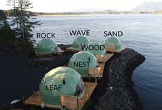 Luxury Waterfront Glamping on Tofino's Wild Coast Tofino Canada, British Columbia Vacation Places, Places To Travel, Places To See, Travel Destinations, Vacations, Places Around The World, Around The Worlds, Tofino Bc, Voyage Canada