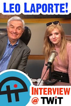 The #PrincessOfThePress interviews #TheTechGuy himself, Leo Laporte at #TWiT Studios in Petaluma, California! It's a mega-Awesome #tech interview! #geek #technology #siliconvalley #apple #microsoft #journalism #education