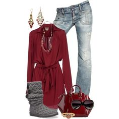 Scarlet 8, created by hollyhalverson on Polyvore