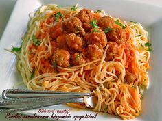 Spaghetti, Food And Drink, Cooking Recipes, Foods, Ethnic Recipes, Drinks, Diet, Meals, Food Food