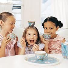 I love tea parties.