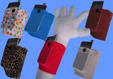 Wrist Phone Holder   Phubby Phone Cubby Wrist Arm Wallet Cell Phone Ipod MP3 Holder Elastic