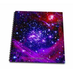 Galaxy and Nebula - Milky Way Galaxy - Mini Notepad, 4 by Diy Galaxy, Galaxy Art, Galaxy Drawings, Galaxy Pictures, Magical Jewelry, Galaxy Painting, Neon, Amazon Art, Milky Way