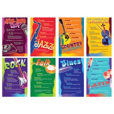 Set the stage for a fresh, new approach to music education with the Music Genres bulletin board. From the impromptu variations of jazz to the structured harmonies of classical music, this bulletin boa