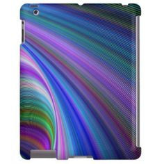 Sink in Colors $77.30 *** Sink in these beautiful hypnotic colorful curves! - iPad case