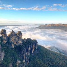 Reposting @thelookoutechopoint: Breathtaking shot of Three Sisters by @kcbelford - we love it. #thethreesisters #bluemountains #australia #instadaily #instagood #photooftheday #love #potd #threesisters #visitnsw #landscape #travel #nsw #travelphotography #nature #thelookoutechopoint #explore #picoftheday #wonderful_places #travelgram #mountains #australianlandscape #adventure #hiking #aus #beautiful #travelgram #travellures #exploreaustralia #amazingdestination