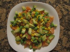 California Sunshine Salad from pg 113 of my newest book S.A.S.S! Yourself Slim