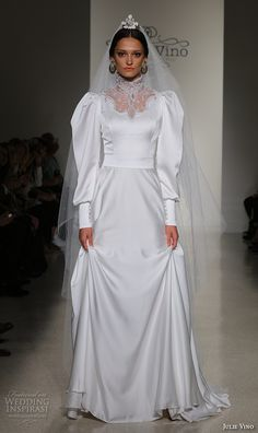 "Julie Vino Fall 2016 ""Santorini"" Wedding Dresses — New York Bridal Runway Show 