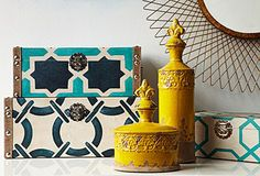 Accent pieces via One Kings Lane