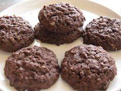 Chocolate Chip Brownies, Brownie Cookies, Cookie Desserts, Cookie Recipes, Biscuits Au Caramel, Biscuits Graham, Cookies With Rice Krispies, Chocolat Recipe, Bon Dessert