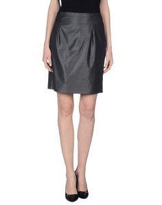 NAF NAF Women's Knee length skirt Steel grey 10 US