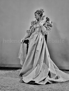 Helen as the Queen in the Central City (Colorado) Opera House stage production of Victor Hugo's 'Ruy Blas' (July - My collection. Helen Chandler, Dona Drake, Judy Lewis, Lilli Palmer, Marie Prevost, Gloria Dehaven, Bessie Love, John Garfield, John Payne