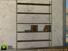 TheNumbersWoman's Loft Living Bookshelf