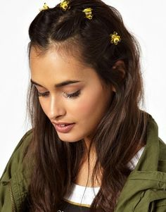 Limited Edition Sunflower Mini Hair Claws