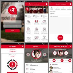 Design of innovative mobile app for coaches Football school Acadef by YusakG.F.X