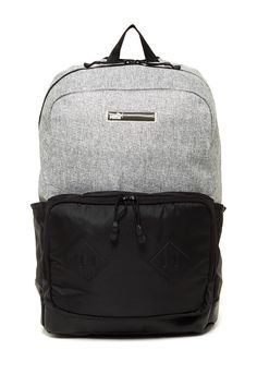 Super classy backpack. Im thinking of using it for a diaper bag. Sponsored by Nordstrom Rack.