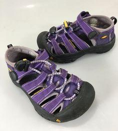 Keen Kids 10 Purple Sports Sandals Waterproof #KEEN #Sandals