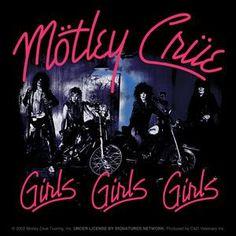Motley Crue - Girls Girls Girls. #albumcovers #albumart http://www.pinterest.com/TheHitman14/album-cover-art/
