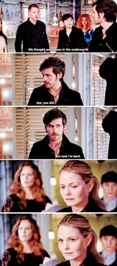 "David, Killian Jones and Emma Swan - 5 * 22 ""Only You"" - 5 * 23 ""An Untold Story"""