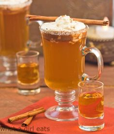 Hot Apple Pie, buttery spiced cider with a shot of apple brandy and ...