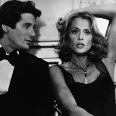 Great looking couple #richardgere #laurenhutton #1980s #americangigolo #wow #gorgeous