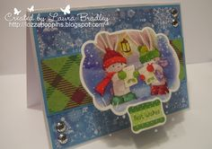 Bebunni from Crafter's Companion: Bebunni #Christmas 6x6 papers, Topper and sentiment from topper sheet, Core'dinations, Centura Pearl