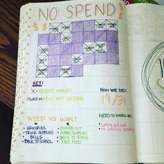 no spend log