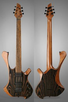 Padalka Ennea G6 - Masterbuilt guitar made in Russia by luthier Simon Padalka - White ash 2 pieces solid body - Pau ferro 1 piece set neck - Bocote fretboard - Fokin Grizzly Set pickups