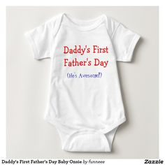 My Daddy Drives A Ferrari Personalized Long Sleeve Baby Vests Bodysuits Unisex