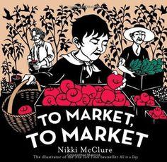 """""""To Market, to Market"""", Nikki McClure 2011"""