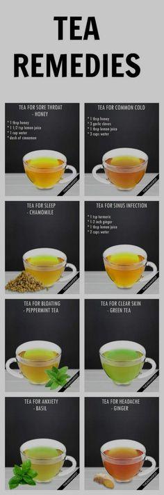 Medicinal Teas And Their Benefits