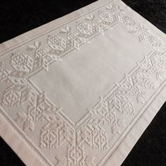 Bargello, Embroidery Patterns, Needlework, Blog, Handmade, Vintage, Design, Hardanger Embroidery, White Embroidery