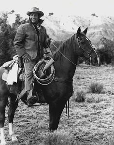 Dean Martin and Tops the horse