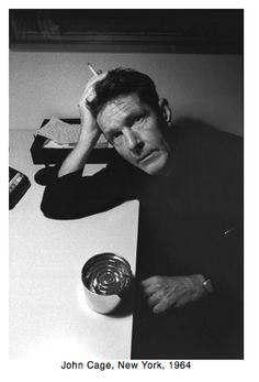 John Cage New York 1964