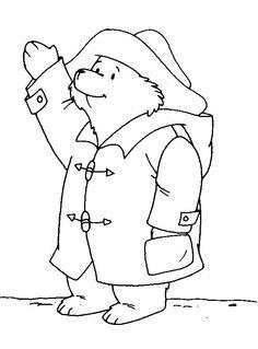 Printable Paddington Bear coloring pages Bear Coloring Pages, Coloring Pages For Kids, Coloring Sheets, Kids Coloring, Adult Coloring, Bear Pictures, Print Pictures, Paddington Bear Party, Bear Drawing