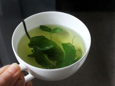 Fresh Peppermint Tea can help allergy sufferers, sleepy drivers, people with upset stomachs, and the folks who are having garlic and onions for lunch...