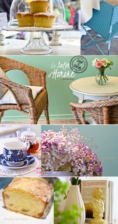 salon d'honoré - petit salon de thé