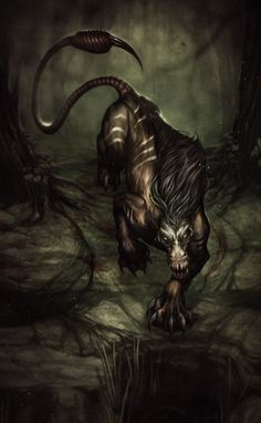 Fan Art of Adahy for fans of Fantasy 1334825 Alien Creatures, Magical Creatures, Dark Fantasy, Fantasy Demon, Apocalypse, Dragons, Animal Art Projects, Fantasy Beasts, Cool Monsters