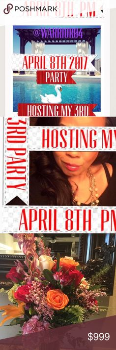 2nd Listing Cohosting my 3rd Party on April 8th Hosting my 3rd Party on Saturday April 8th PM RSVP please help me find those amazing Posh Compliant listings and tell me why you deserve a HOST PICK, I'll be on the hunt, good luck and stay Posh Compliant, Sassy and Humble! Anthropologie Dresses