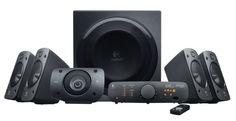 Logitech Surround Sound Speaker System Z906 #Logitech Surround Sound Speaker System Z906 #tech gifts