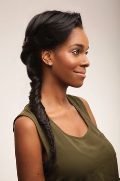 4 Pro Hair Tips That Make Braiding Easy via Brit + Co.