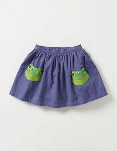 Animal Pocket Skirt