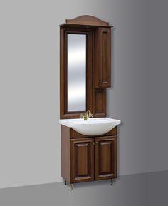 Fürdőszoba bútorbolt - BAROKK 66 RETRO Fürdőszobaszekrény kombináció GUIDO
