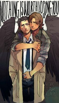 I ship destiel but holy crap this is awesome