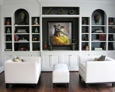 Spaces Family Room Pop Of Color Design, Pictures, Remodel, Decor and Ideas - page 9