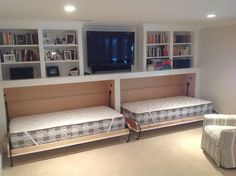 Basement Murphy Beds