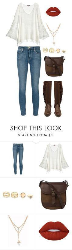 """""""Country Girl"""" by gabi-20 on Polyvore featuring Frame Denim, Calypso St. Barth, LULUS, DUBARRY, Lime Crime and country"""
